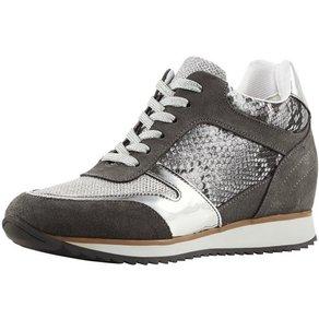heine Sneaker mit Glanzeffekt
