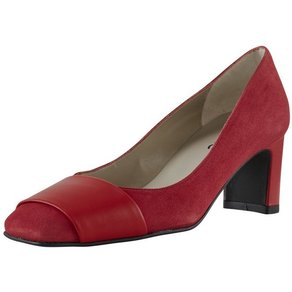 heine Pumps im Material-Mix