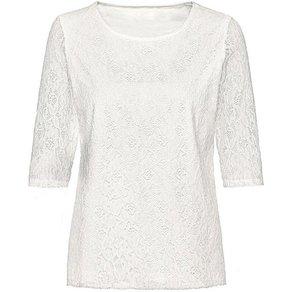 Classic Basics Shirt aus eleganter Spitze