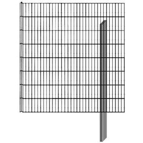 Belissa BELLISSA Mauersystem Gabionenzaun Limes Anbausatz LxT 112x12 cm versch Höhen