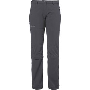Vaude Damen Outdoor Zipp-Off-Hose Farley Stretch Capri T-Zip II