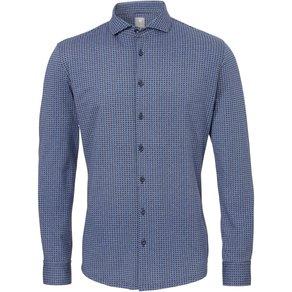 Pure Figurbetontes Langarm-Hemd elastisch