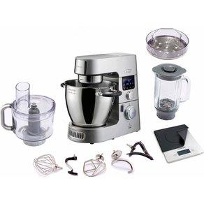 Kenwood Küchenmaschine mit Kochfunktion Cooking Chef Gourmet KCC9061S digitaler Küchenwaage 1500 Watt Schüssel 67 Liter