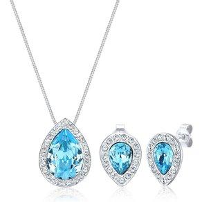 Elli Schmuckset Swarovski Kristalle 925 Sterling Silber