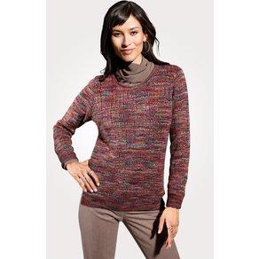 Mona Pullover aus reiner Alpakawolle