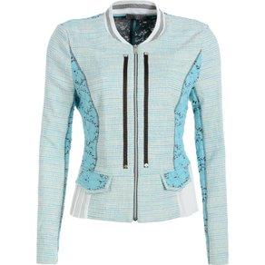 Tuzzi Elegante Jacke im Material-Mix