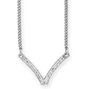 Caï CAÏ Collier 925 -Sterling Silber rhodiniert Topas