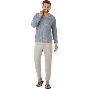 Trigema Langarm Schlafanzug