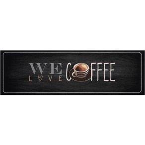Zala Living Küchenläufer We love Coffee rechteckig Höhe 5 mm maschinell getuftet