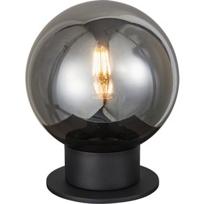 Brilliant Leuchten Astro Tischleuchte 20cm schwarz rauchglas