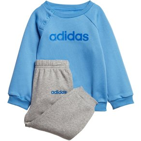 Adidas Jogginganzug LINIEAR JOGGER FLEECE Set 2 tlg