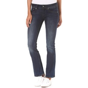 G-Star Raw G-STAR RAW Midge Saddle Mid Skinny Bootcut Neutro Stretch Jeans für Damen Blau
