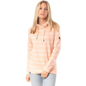 Lakeville Mountain Mara Striped Kapuzenpullover für Damen Pink
