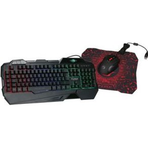 Marvo Hyrican Gaming Set Tastatur KG745 Gamingmaus G928 und Mauspad G1