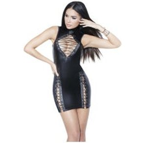 Coquette Darque Dress Black - S