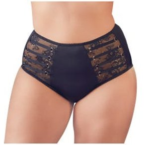Cottelli Collection Taillenslip Schwarz-XL