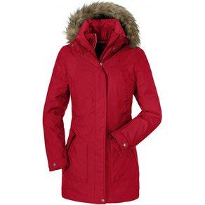 Schöffel Women s 3in1 Jacket Genova 2 Mantel Gr 40 rot