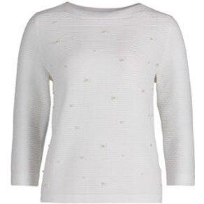 Betty Co White Damen Pullover 3 4-Arm