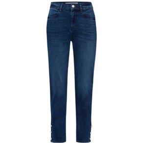 Riani Damen Jeans Slim Fit verkürzt