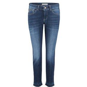 MAC Damen Jeans Straight Fit Slim Leg 7 8-Länge