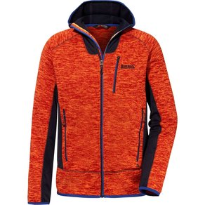 Regatta Herren Fleecejacke Cartersville V orange navy M