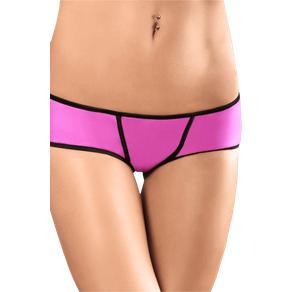 Ouvert Panty Pink/Schwarz