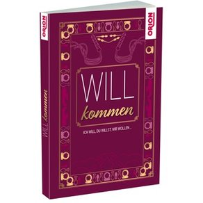 """ORION Buch """"WILLkommen"""", Aufklärung & erotische Geschichten"""