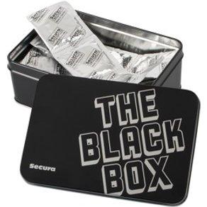 CPR Kondome, schwarz mit Noppen, 50 Stück in Dose