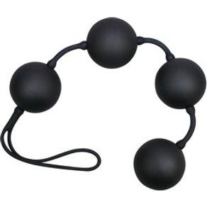 """Orion Liebeskugeln Black Balls Velvet"""" 4 Kugeln 108 g 3 5 cm"""