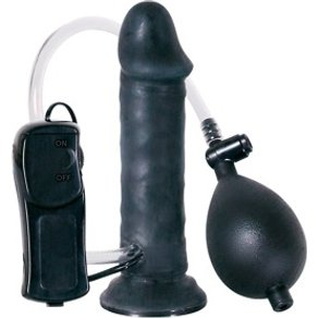 "Orion Naturvibrator Temptation in Black"" 15 5 cm zum Aufpumpen"