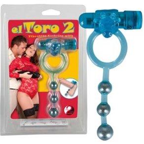 "Orion Vibro-Penisring ""El Toro 2"" mit Metallkugelstrang"