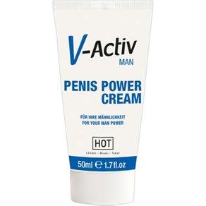 "HOT Productions ""V-Activ Penis Power Cream"", mit ätherischen Extrakten"