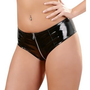 Orion Pants aus Lack, mit durchgehendem Zip