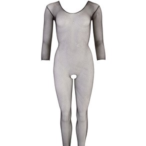 Mandy Mystery lingerie Catsuit aus Netz