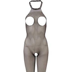 Mandy Mystery lingerie Catsuit mit freiliegenden Brüsten