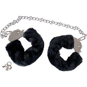 """You2Toys Handschellen """"Bigger Furry"""" mit Plüsch und langer Kette"""