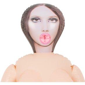 "Excellent Power Liebespuppe ""Lusting Trans"", mit herausnehmbarem Dildo"
