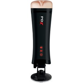 "PDX Elite Masturbator ""Talk-Back Super Stroker"", 10 Vibrationsmodi"