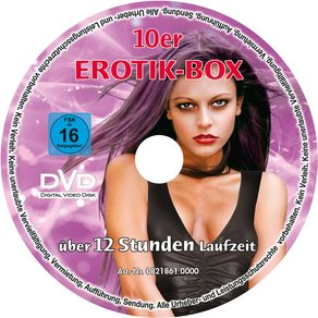 "Erotic Sins ""10er-Soft-DVD-Spindel"", 730 Minuten"