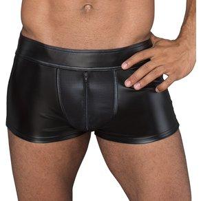 Noir Pants mit Reißverschluss im Schritt