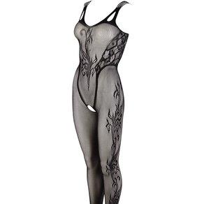 Mandy Mystery lingerie Catsuit mit eingenähtem Muster