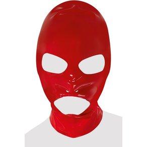 Late X Kopfmaske aus Latex, mit Öffnung für Augen, Mund und Nasenlöcher
