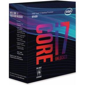 Intel CPU Core i7-8700K 6x 3 7 GHz