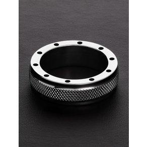 TRIUNE Cool Knurl C-Ring Edelstahl-Penisring 40mm