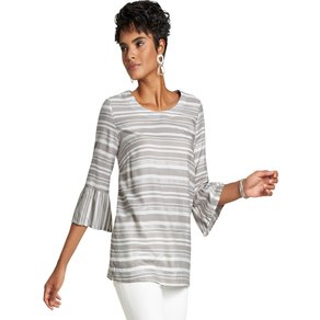 Creation L WITT WEIDEN Damen Bluse grau Gr 50