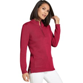 Collection L Damen Pullover rot Gr 36