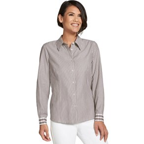Collection L Damen Bluse braun Gr 42