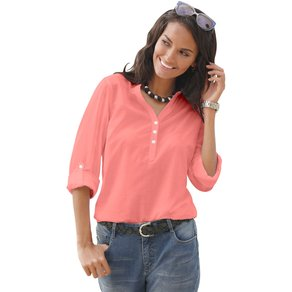 Collection L Damen Bluse rot Gr 42
