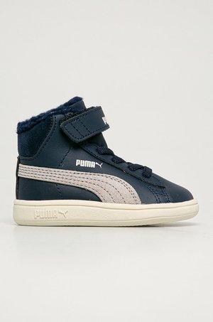 Puma Puma - Buty dziecięce Smash v2 Mid L Fur V Inf