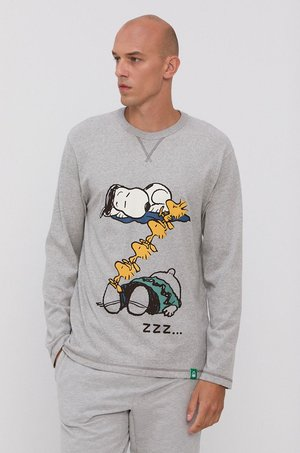 United Colors of Benetton United Colors of Benetton - Longsleeve piżamowy x Peanuts